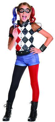 Harley Quinn DC Super Hero Girls Deluxe Kostüm für Kinder Kinderkostüm Original