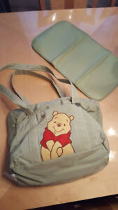 New Winnie the Pooh Diaper Bag and Change Mat