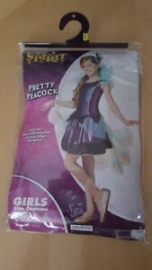 Pretty Peacock Costume Size 8-10 Youth