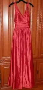 6 formal dresses/gowns and 3 pairs of high heels