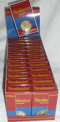 1 Kt mit 24 x 30 Stück Nicobuster Zigarettenfilter / Versandkostenfrei