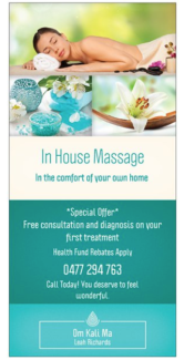 In House Massage for Women   $90/hr