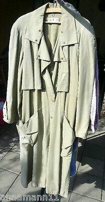 Beige, taupe Damen Mantel, Übergangsmantel von Chiwitt, Gabardine, Knielang, gebraucht gebraucht kaufen  Berlin