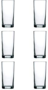 Hi Ball Glass Tumblers Set of Six 10oz.