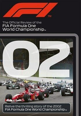 FORMULA ONE 2002 - F1 Season Review MICHAEL SCHUMACHER Grand Prix 1 Reg Free DVD