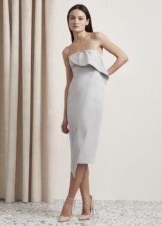 BNWT Keepsake the Label Tessellate Midi Dress medium