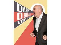Dara O'Briain Tickets x2 27/05/18 Glasgow