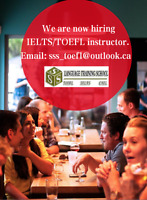 Looking for IELTS/TOEFL Instructors