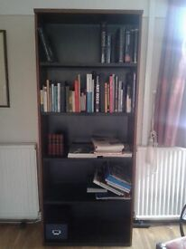 book shelf - oak effect