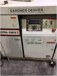 PRICE REDUCED -Gardner Denver 40HP Compressor