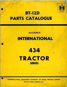 McCormick-International-Tractor-434-Parts-Manual