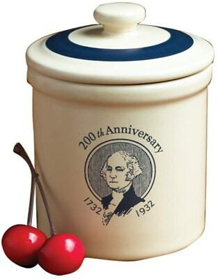 NEW IN BOX Pfaltzgraff 2011 Bicentennial George Washington Miniature Mini Crock