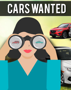 LOOKING for a vehicle