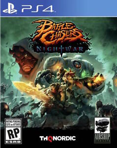 PS4 Battle Chasers Nightwar - BRAND NEW