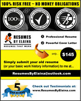 ▶ Professional Resume Writing Service ~ 100% Quality of Service