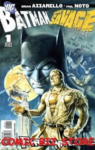 BATMAN/DOC SAVAGE #1 (2010) 1ST PRINTING BAGGED & BOARDED DC