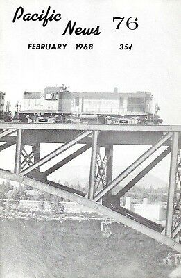 Pacific News 76 February 1968 Mixed Trains Pacific Northwest Rayoniers Diesels