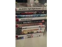 18 games ps3 2 joy stick all for £130