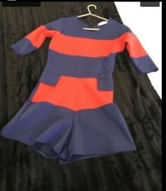 Sam Fairs (towie) Inspired Playsuit Size 8