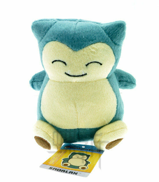 "Pokemon Go Snorlax Plush Toy Stuffed Animal Doll Figure 6"" K"