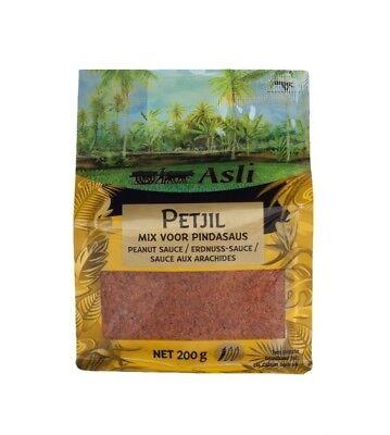 Sparen: Asli Petjel Erdnuss Sauce 200g Sate Satay Saté Erdnusssauce Soße