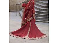 Asian wedding dress size 10