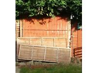 Free scrap fencing and drawers