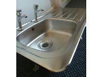 Kitchen Sink and Taps Bargain £20.00