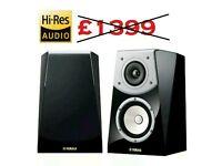Yamaha ns-b901 soavo natural sound Bookshelf home cinema speakers gloss black