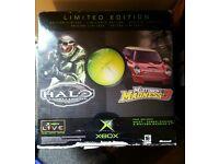 Xbox original ltd edition with games