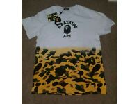 Mens bape t shirt