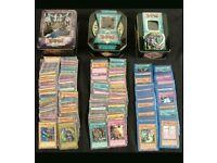 Yugioh Cards 1500+ 6 Tins