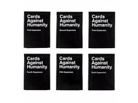 Cards against humanity expansion 1-6 1 2 3 4 5 6