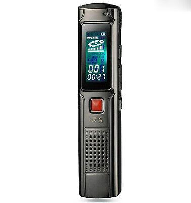 Voice Recorder 4 GB Ghost Haunting EVP Session Notes Dictaphone Speaker USB