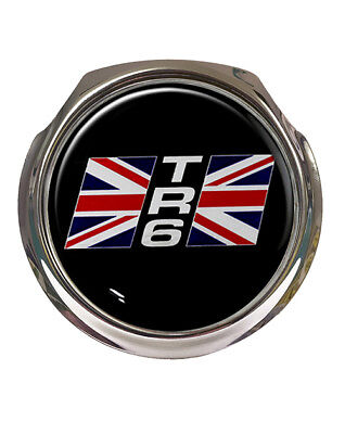 Free Fixings Automobilia Vehicle Parts & Accessories Supply Gb Union Jack Car Grille Badge