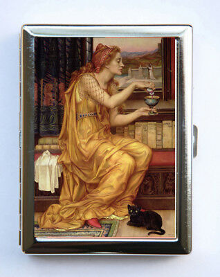 The Love Potion Women Cigarette Case Wallet Business Card Holder Halloween