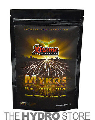 Xtreme Gardening Mykos Pure Mycorrhizal 100G / 1 / 2 / 20/ 50 LBS -Mycos (Extreme Garden)
