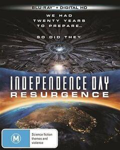 Independence Day - Resurgence (Blu-ray, 2016) NEW