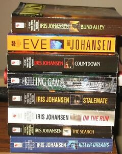 Iris Johansen - Lot of 8 Novels
