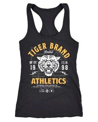 Cooles Damen Tank-Top Tiger Brand Tokyo Supply Japan Athletic Sport Muskelshirt - Tiger Damen Tank Top