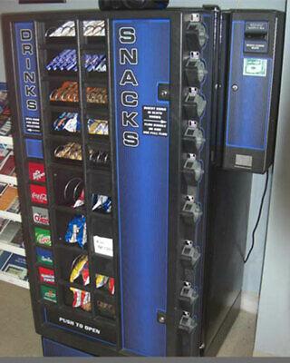 Amazing Combo Soda Pop Candy Vending Machine - Best Price - Make Ready To Go
