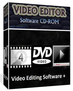 MOVIE DVD VIDEO FILM EDITOR EDITING CONVERTING BURNING RIPING SOFTWARE + BONUS