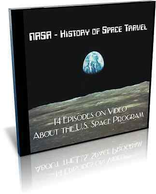 NASA - The History of Space Travel 14 Video Episodes on DVD + Teachers Guide