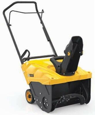 "Pow'R'kraft 18"" Snow Blower w/87cc 110v Electric Start ~ 2 Year Warranty"