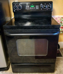 GE Self cleaning electric stove