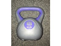 3kg and 6kg Kettlebells