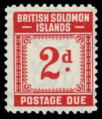 """SOLOMON ISLANDS J2 (SG D2) -Numeral of Value """"Postage Due"""" (pf92015)"""
