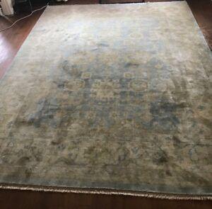 Large Silk/Wool Rug/Carpet