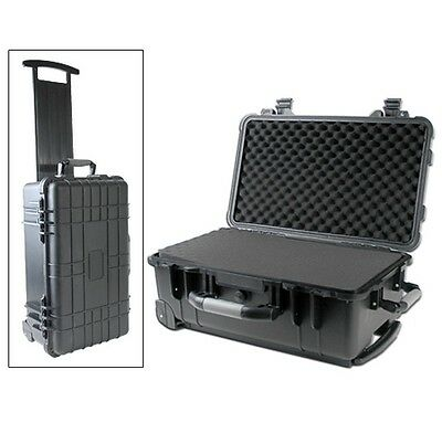 "Tactical Weatherproof Equipment Case Vertex Icom Motorola CP200 radios 22/"""