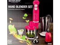 Hand blender set new boxed